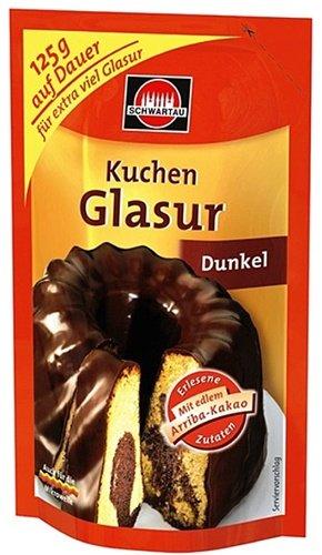 Schwartau Kuchen Glasur Dunkel 100g Amazon De Lebensmittel Getranke
