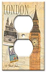 Art Plates - London Switch Plate - Outlet Cover