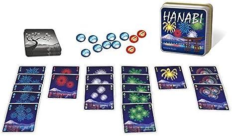 Asmodée JP38 Hanabi - Juego de Cartas: Amazon.es: Juguetes y juegos