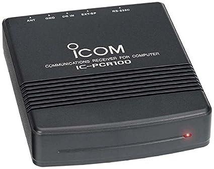 ICOM PCR-100 Programmable Computer-Controller Scanner / HAM Receiver