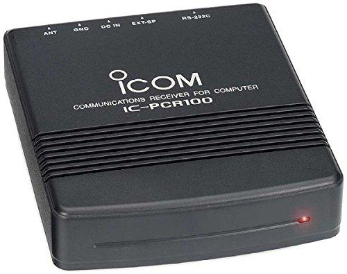 Radio Manual Icom (ICOM PCR-100 Programmable Computer-Controller Scanner / HAM Receiver)