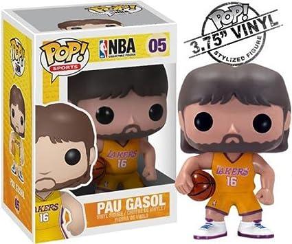 Amazon.com: Funko POP NBA PAU Gasol Vinyl Figure: Toys & Games