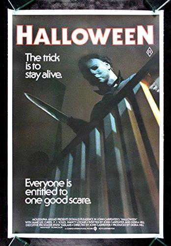 HALLOWEEN * CineMasterpieces RARE AUSTRALIA AUSTRALIAN ORIGINAL MOVIE POSTER SCARY HORROR MICHAEL - Australia Myer