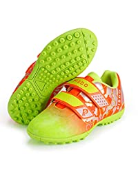 PISDO Kids Soccer Shoes Indoor/Outdoor Training Turf Soccer Shoes for Boys and Girls (Little Kids/Big Kids)
