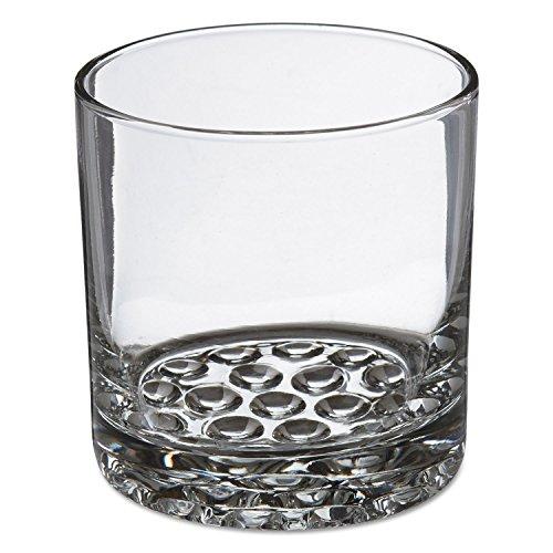 Nob Old Fashioned Hill (Libbey 10031009370181 Nob Hill Glass Tumblers, Old Fashioned, 10.25oz, 3 3/8 inch Tall, 24/carton)