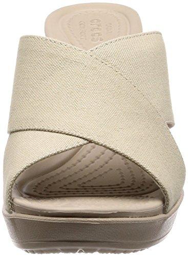 Oyster 204949 Mujeres Cobblestone Altos Crocs Sandalias qzAw1aqBx6