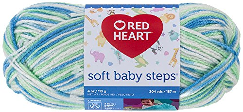 Red Heart Steps Puppy Print product image