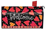 Valentine Large Magnetic Mailbox Cover Hearts Valentine's Day Oversized