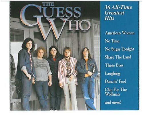Release 36 All Time Greatest Hits By The Guess Who