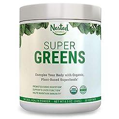 SUPER GREENS | #1 Green Veggie Superfood...