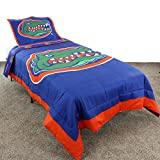 College Covers Florida Gators Reversible Comforter Set, Queen