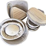 Bread Proofing Basket Dough Bread Making Rising Set with Cloth Liner for Bakers Handmade with Cloth cover(Size Rondom)(only Cloth cover)