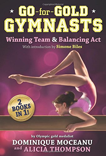 Go-for-Gold Gymnasts Bind-up [#1: Winning Team + #2: Balancing Act] (The Go-for-Gold Gymnasts) from Disney-Hyperion