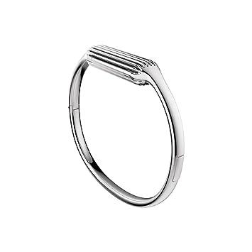 gamme exclusive meilleur pas cher nouveaux styles Fitbit Flex 2 Accessory Bangle, Silver, Small