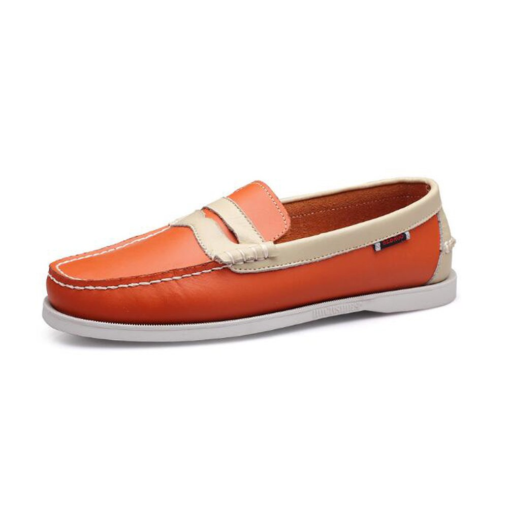 YXLONG Außenhandel Große Größe Segelschuhe Männer Casual Herrenschuhe Lederschuhe British Fahren Einzelne Schuhe Männer