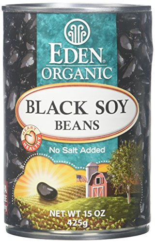 Eden Black Soy Beans - 15 oz - 12 Pack