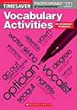 Timesaver 'Vocabulary Activities Pre-Intermediate/Intermediate': Photocopiable, CEFR: A2-B1 (Helbling Languages / Scholastic)