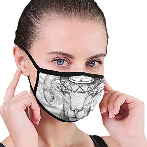 EU Anima Staubmaske verstellbare Maske Sturmhaube Kinder Teen Männer Frauen