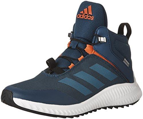 cheaper a7b25 56a4b adidas Kids  FortaTrail Mid Training Shoes, Blue Night Mystery Petrol Energy ,