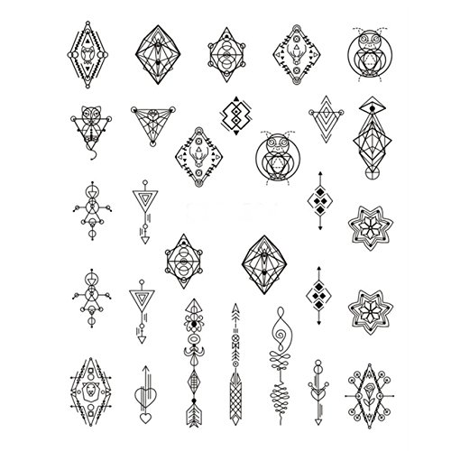 1 Sets Dandelion White Black Girl Nail Art Stickers Water Transfer Nails Wrap Paint Tattoos Stamper Plates Templates Tools Tips Kits Pleasing Popular Xmas Holidays Stick Tool Vinyl Decals Kit, Type-03 -