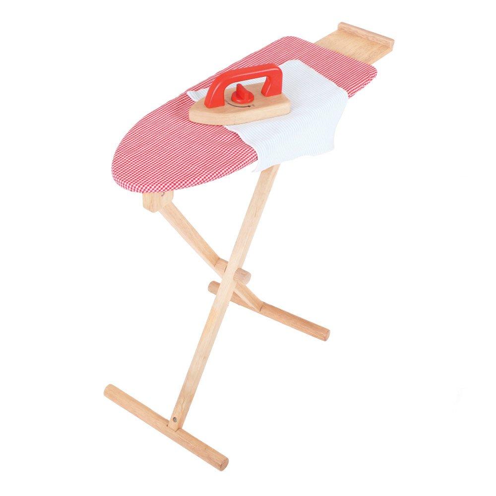 Kinderwaschmaschine - Bigjigs Toys Bügeleisen und Bügelbrett