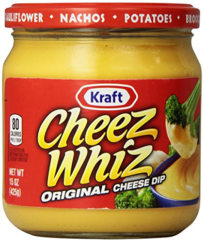 Cheez Whiz Original Cheese Dip (15 oz Jar) - Feta Cheese Spread