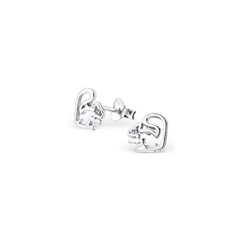 Liara Polished And Nickel Free Ball Plain Ear Studs Sterling Silver 925