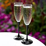 Hortense B. Hewitt Wedding Champagne Toasting