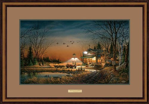 Welcome to Paradise Framed Elite Print by Terry Redlin