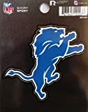 Rico Industries NFL Detroit Lions Die Cut Team Logo Short Sport Sticker