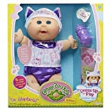 Cabbage Patch Kids Babies Dress up and Play the Animal Way - Kitten (Blonde Hair, Blue Eyes)