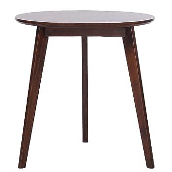 LBFKJ Stuhl, Esstisch Aus Holz Verhandeln Tisch Couchtisch Nordic Runde  Esstisch Einfache Freizeit Beistelltisch Beistelltisch