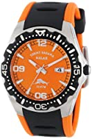 Tommy Bahama RELAX Men's RLX1154 Reef Guard Diving Bezel Orange Dial Polyurethane Watch by Tommy Bahama RELAX