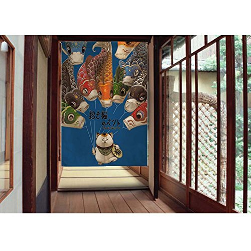 George Jimmy Home/Office Decor Door Hallway Curtain Japanese Tapestry Entrance Commercial Curtain, 01 by George Jimmy (Image #1)