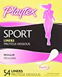 Health & Personal Care : Playtex Sport Body Shape Liner Regular, 54 Count (Pack or 2)
