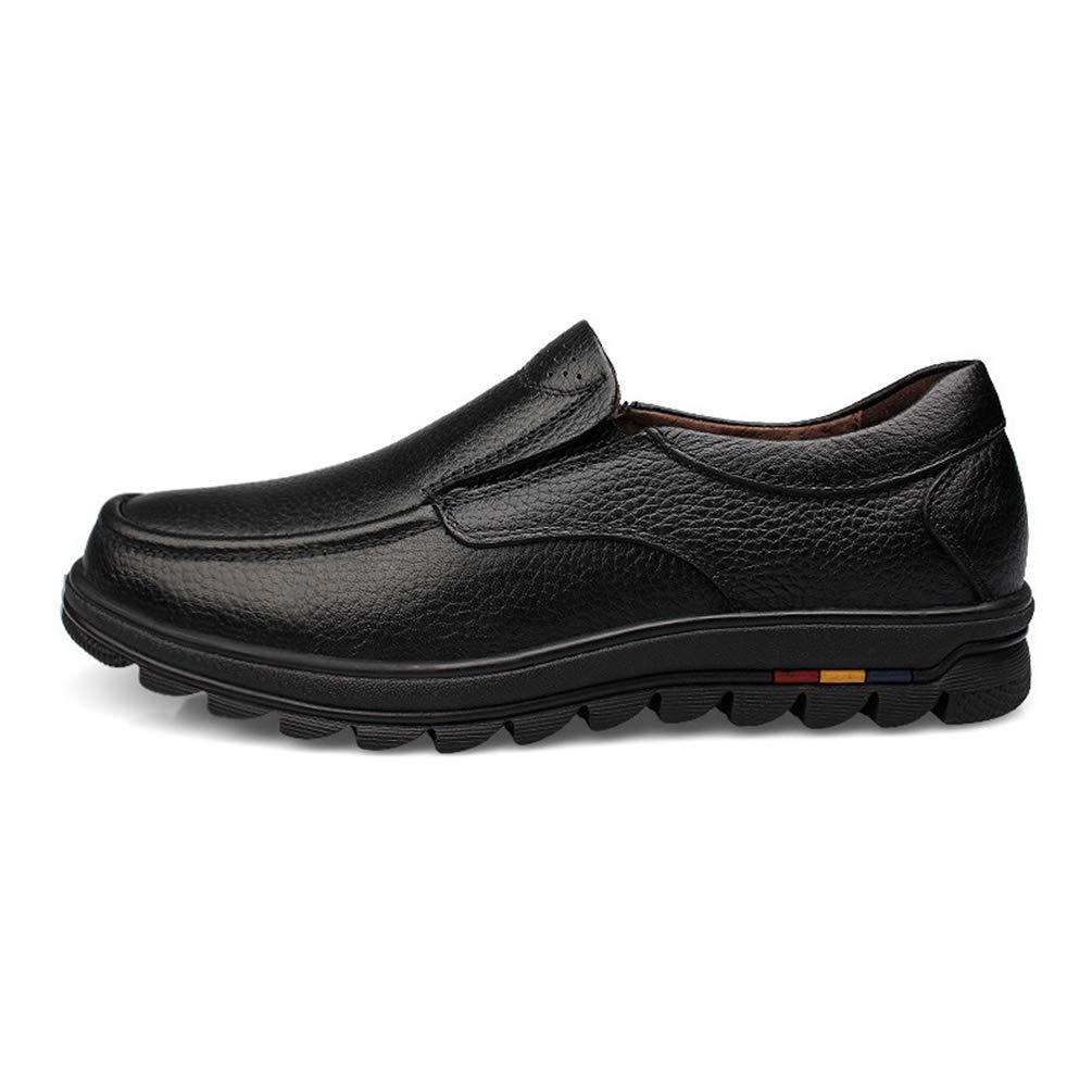 Zapatos de Hombre Vestido de Cuero Blando Mocasines Formales