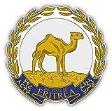 Eritrea Coat Of Arms Vinyl Decal Bumper Sticker 5'' X 5''
