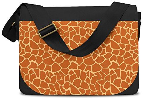Giraffe Print Messenger Bag - One Size Messenger Bag