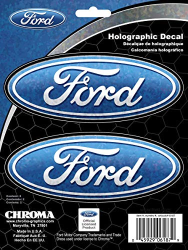 Ford Stickers Truck - Chroma 6187 Ford Holographic Decal