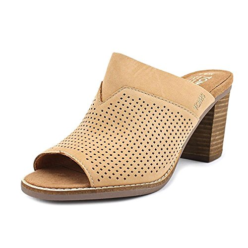 Women's Toms 'Majorca' Peforated Mule, Size 6.5 M - Brown