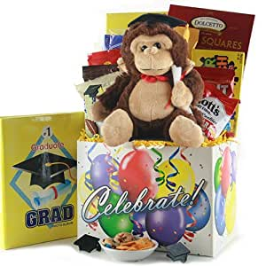 Way To Go! Graduation Gift Basket
