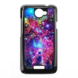 HTC One X Cell Phone Case Black Space Nebula teju