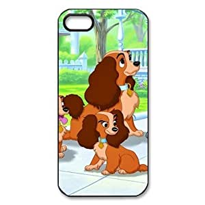 Lady and The Tramp Custom Printed Design Durable Case Cover for Iphone 5 5S