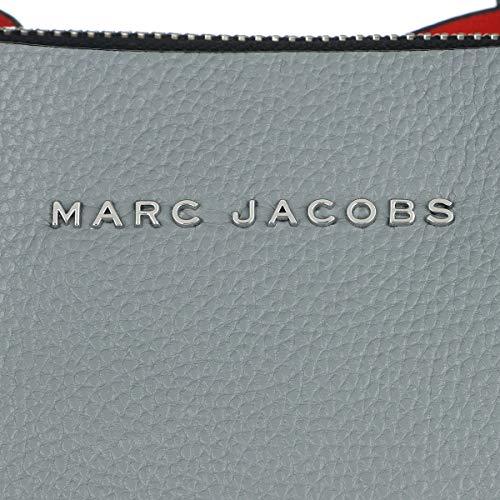 gris Marc nica de para Cuero Gris Talla mujer Bolso Jacobs asas de wOwq6x1ZUH