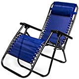 Zero Gravity Outdoor Folding Lounge Chair with Pillow - Best Reviews Guide