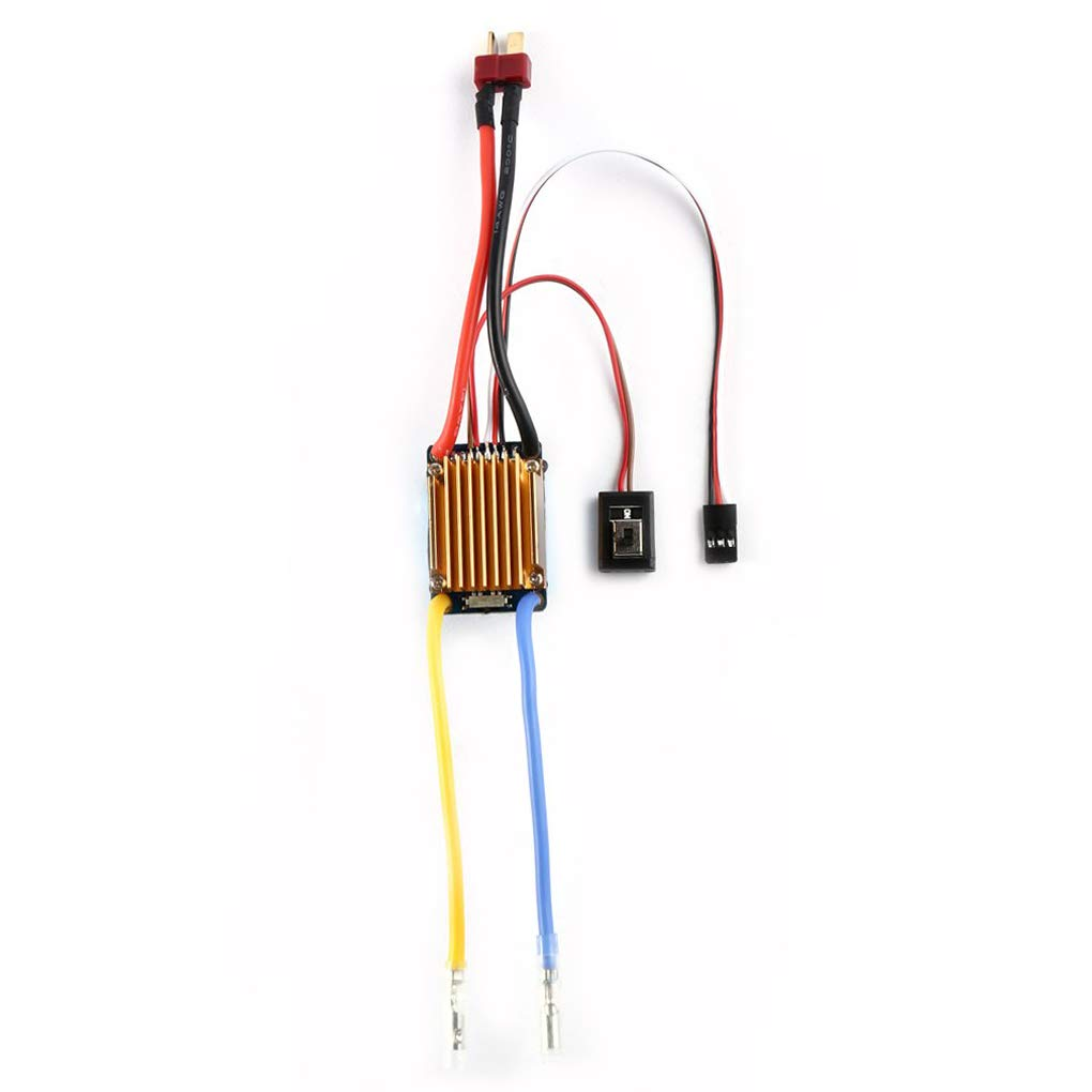 OCDAY Waterproof 3S 60A Brushed Motor ESC Electronic Speed Controller Without Fan For Tamiya ESC RC Car