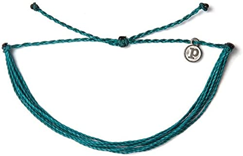 Pura Vida Jewelry Bracelets Muted Bracelet 100/% Waterproof and Handmade w//Coated Charm Adjustable Band