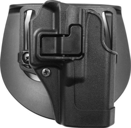BlackHawk® CQC™ Carbon Fiber Holster Matte Finish Glock 19 / 23 / 32, BLACK, RH, Outdoor Stuffs
