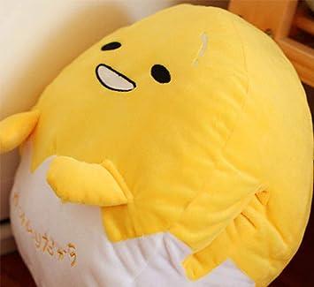 Amazon.com: LQT Ltd Kawaii Gudetama Lazy Egg - Almohada de ...