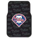 MLB Philadelphia Phillies Auto Front Floor Mat, 2-Pack